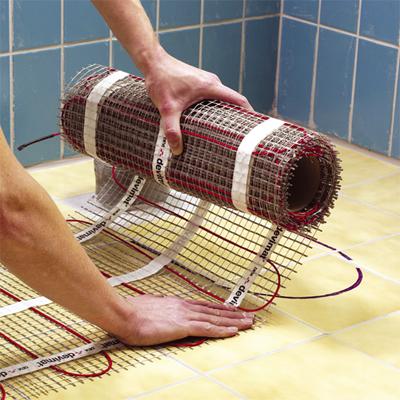 le chauffage électrique au sol, types de chauffage - ambiance chauffage